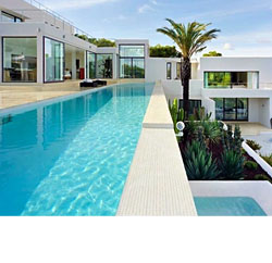 One of many beautiful villas for rent